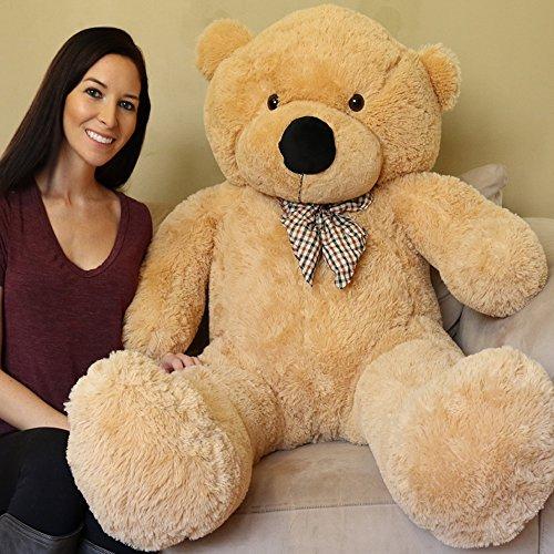 Yesbears Giant Teddy Bear 5 Feet Tan Color