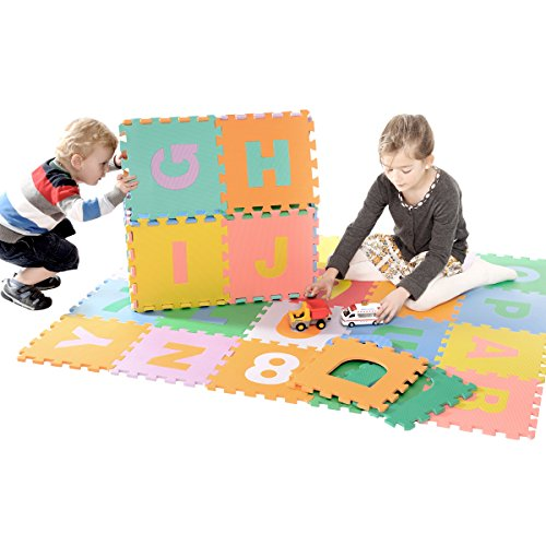 Zoeshare-36-Piece-Kids-Puzzle-Play-Mat-with-Foam-Alphabet-and-Numbers-0