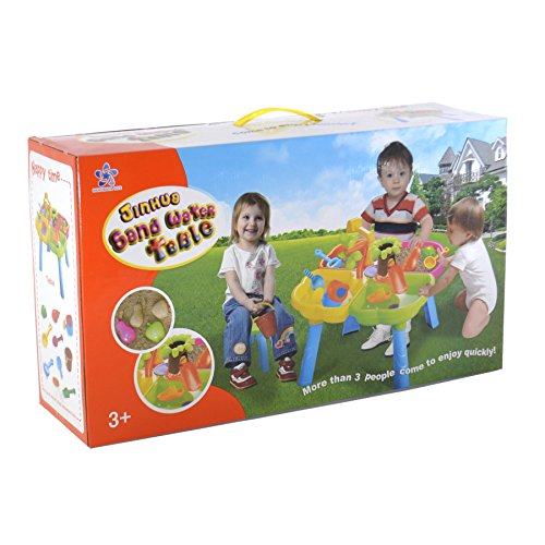 boppi-4-Section-Childrens-Sand-and-Water-Table-with-13-Play-Accessories-2-Stools-0-1