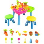 boppi-4-Section-Childrens-Sand-and-Water-Table-with-13-Play-Accessories-2-Stools-0