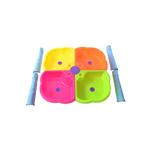boppi-4-Section-Childrens-Sand-and-Water-Table-with-13-Play-Accessories-2-Stools-0-2