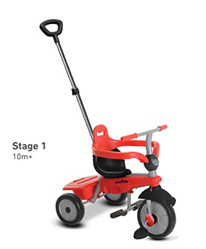 smarTrike-Breeze-3-in-1-Baby-Tricycle-Red-0-1