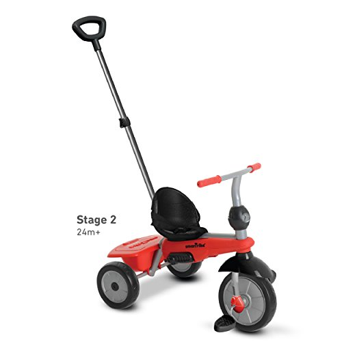 smarTrike-Breeze-3-in-1-Baby-Tricycle-Red-0-2