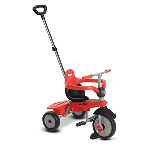 smarTrike-Breeze-3-in-1-Baby-Tricycle-Red-0