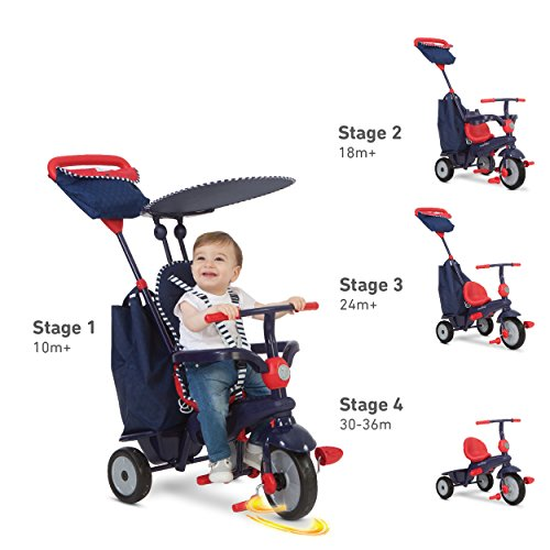 smarTrike-Glow-4-in-1-Baby-Tricycle-0-4