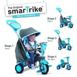 smarTrike-Swing-4-in-1-Baby-Trike-Light-Weight-12-pound-With-Padded-Seat-Foot-Rest-Quiet-Ride-Wheels-Cup-Holder-Storage-Bag-Canopy-0