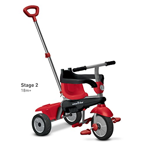 smarTrike-Zoom-4-in-1-Baby-Tricycle-Red-0-2